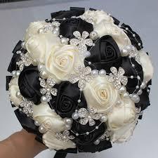 wedding bouquets cheap diamond bouquet wedding bouquet de mariage polyester
