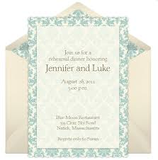 dinner invitation rehearsal dinner invitation wording