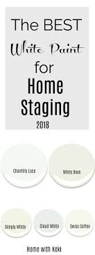 what is the best white color to paint kitchen cabinets best white paint colors for home staging 2018 home with keki