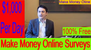 Money Making Online Surveys - make money online surveys ways to make 1 000 per day 2017 100