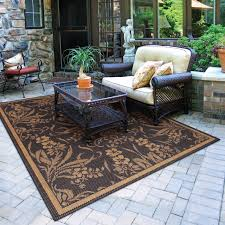 Outdoor Patio Rug Floor Rug Wicker Loveseat And Table Set With Outdoor Patio Rugs