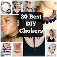choker necklace diy images 20 best diy choker necklaces to glam yourself up cool crafts jpg