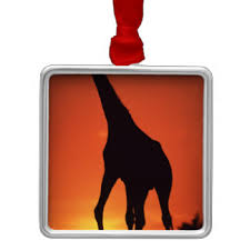 south africa giraffe ornaments keepsake ornaments zazzle