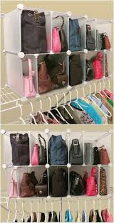 Dollar Store Shoe Organizer Best 10 Purse Organizer Closet Ideas On Pinterest Handbag