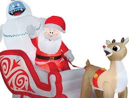 Christmas Outdoor Decorations Santa by 59 Best Decorative Inflatables Images On Pinterest Thanksgiving