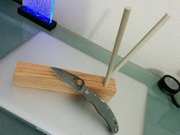 Spyderco Sharpmaker Kitchen Knives 3 Diy Ceramic Kitchen Knife Sharpmaker Noteworthy Morsels