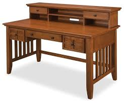 arts and crafts executive desk and hutch craftsman desks and