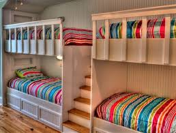 Two Bunk Beds Choosing The Right Bunk Beds With Stairs For Your Children