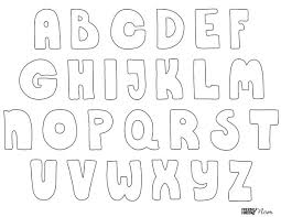 free printable bubble letters free printable free and bullet