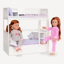 Bunk Bed For Dolls Our Generation Doll Bunk Beds Doll Furniture Accessories