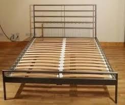 Heimdal Bed Frame Ikea Heimdal Metal Bed Frame Size No Mattress Included