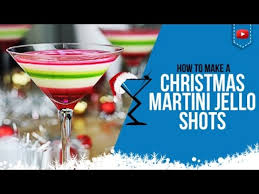 christmas martini recipes christmas jello shots u2013 how to make layered christmas jello shots
