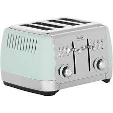 Delonghi Icona Toaster Green Green Toaster Vintage Icona Green 4 Slice Toaster Delonghi New