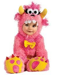 Cute Halloween Costumes Babies Infant Baby Girls Cute Pink Monster Halloween Costume Ebay