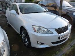 lexus isf white used lexus is cars for sale motors co uk