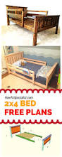 Box Spring Free Bed Frame by How To Build A 2x4 Bed Frame Easy To Follow Free Plans Guides