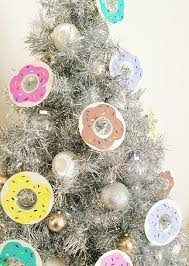 how to make recycled cd donut ornaments recycled crafts