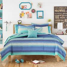 teenvogue electric beach blue comforter set perfect for any dorm