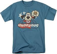 amazon com underdog t shirt clothing