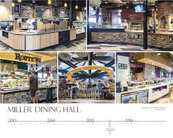 miller dining hall renovation campus planning design