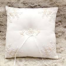 wedding pillow rings wedding ring pillow 21cm 21cm satin wedding ring cushion handmade