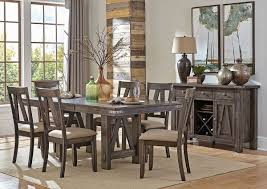 Industrial Style Dining Room Tables Industrial Style Formal Dining Table Set