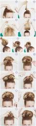 diy party bun hair updo bun diy hair diy bun hairstyles hair