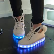 ladies light up shoes womens led shoe 2017 new light up shoes casual feminino shoe glowing