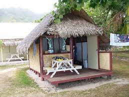 Small Bungalow Moorea Camping