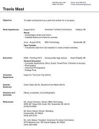 first resume exle for a high student first job resume template domosens tk