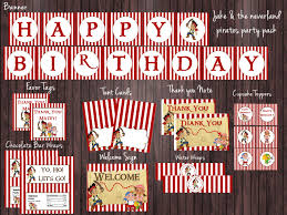 jake and the neverland pirates invite jake and the neverland pirates birthday party package