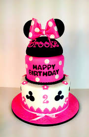minnie mouse cake hot pink minnie mouse cake