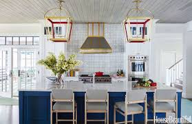 House Beautiful Dining Rooms by Wisconsin Lake House Summer Thornton Designs A Colorful Vacation