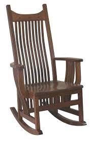 mission style childs rocking chair plans aspen mission rocker