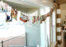 ideas for hanging up christmas cards chrismast cards ideas