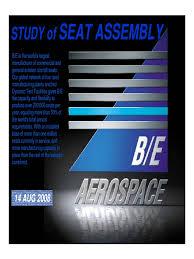 study of seat assembly seat belt foam
