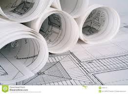 architect plans stock image image 2287151