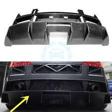 lamborghini gallardo rear part carbon fiber auto rear bumper refit for lamborghini gallardo