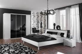 chambre moderne noir blanc