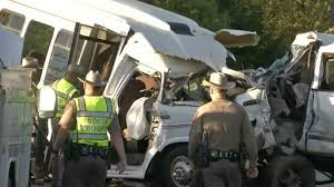witness uvalde county bus crash truck driver texting while driving