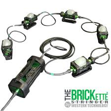 explosion proof led work light the brickette explosion proof led string light