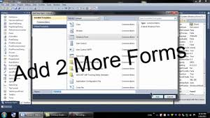 membuat file xml dengan vb6 visual basic 2010 tutorial 2 multiple forms youtube