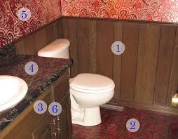 twine how to update a 70s bathroom wood paneling idolza