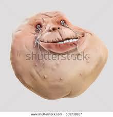 Meme Head - forever alone rage face guy internet stock illustration 509738107