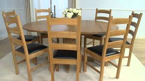 Oak Dining Room Tables Dorchester Solid Oak Extending Round Oak Dining Table And Vermont