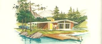 vintage house plans vacation homes posted may building plans