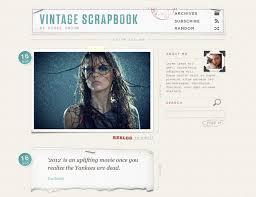 vintage tumblr themes free html 70 awesome tumblr themes webdesigner depot