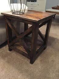 Outdoor End Table Plans Free by Best 25 Diy End Tables Ideas On Pinterest Pallet End Tables