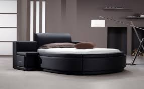 Modern Bedroom Design With Round Bed Ideas Home Interior Design - Bedroom bed ideas