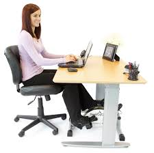 Picture Of Student Sitting At Desk by Amazon Com Deskcycle Desk Exercise Bike Pedal Exerciser White